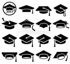 Class of 2013 College Graduation Royalty Free Stock Vector Art Illustration