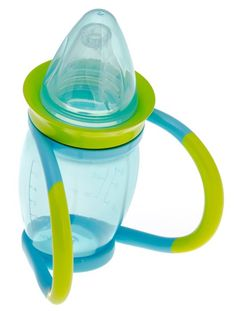 The perfect cup for easy bottle transition. With easy-hold handles for small hands, your little one can learn to drink from a cup with the easy sipper ring. There are four stages from soft silicone teat with handles to sipper ring without to help your baby move on from a bottle. It's BPA Free, Dishwasher safe and suitable from 4 months. www.brothermax.co.za