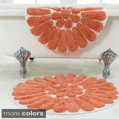 Bath Mats From The Jessica Simpson Bath Collection Jessica - Overstock bathroom rugs for bathroom decorating ideas