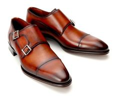 Magnanni Double Monk - burnished double monks are so versatile.
