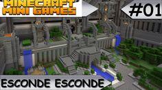 MINECRAFT MINI-GAMES - ESCONDE ESCONDE - #01