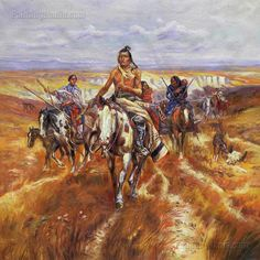 When the Plains Were His by Charles Marion Russell