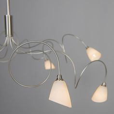 Pendant Lamp Annabel 8 steel