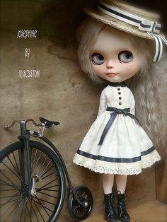 OOAK Custom Blythe Art Doll 21 by Iriscustom