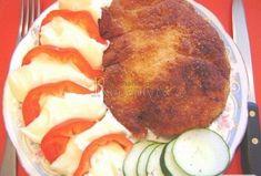 Gurmánské smažené řízky Fried Pork Steak, Ratatouille, Meat, Breakfast, Ethnic Recipes, Food, Morning Coffee, Eten, Meals