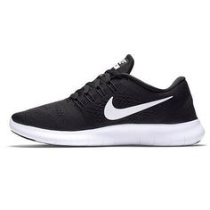 big sale e2b8b f2d8c Womens Nike Free RN Running Shoe BlackAnthraciteWhite Size 7 M US https