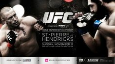 UFC Champion Georges St Saint Pierre beats Hendricks and retains his title.