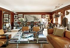Ralph Lauren's Refined Homes and Chic Madison Avenue Office Photos   Architectural Digest