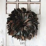 Easy DIY Feather African JuJu Hat Tutorial