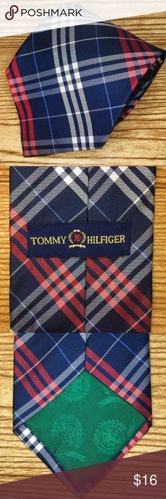 ⭐️Tommy Hilfiger Men's Plaid Red & Blue Silk Tie Tommy Hilfiger Men's Plaid Red & Blue Silk Tie ▪️Red, White & Blue Plaid Pattern ▪️Modern Cut ▪️100% Silk ▪️Made in USA 🇺🇸 ▪️Excellent Condition‼️ Tommy Hilfiger Accessories Ties