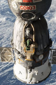 Soyuz Spacecraft docked to the ISS