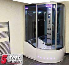Insignia GT8059 LEFT Ulitmate Steam Shower Enclosure 1700mm whirlpool jacuzzi