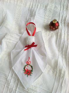 Angel Hankerchief Ornament