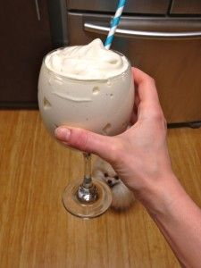 Fluffy protein shakes. EXTRA fluffy
