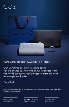 Win some of our favourite things… - bonotone@gmail.com - Gmail