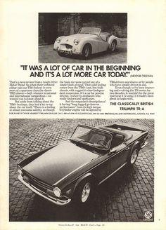 1973 Triumph TR-6 Advertisement Playboy September 1973   by SenseiAlan