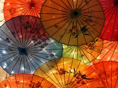 Japanese Umbrella Art