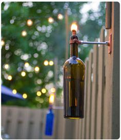 How to Recycle: Awesome Outdoor Garden Lightings