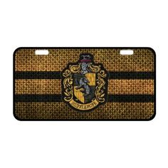 LP-Blinking Harry Potter Hogwarts Hufflepuff Custom License Plate Holder Durable Car Tag 11.8 X 6.1 Inches With 2 Holes -- Awesome products selected by Anna Churchill
