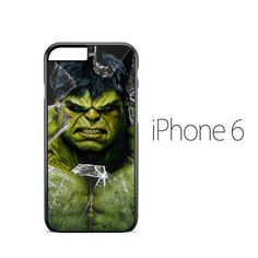 Marvel Hulk Broken Glass iPhone 6 Case