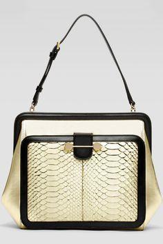 Jason Wu - Daphne Python Satchel Bag