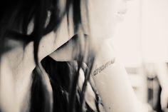 """""""dreamer"""" tattoo"""