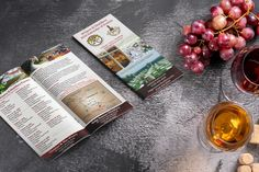 New rack cards for Christian W. Klay Winery #wine #winery #rackcards #tourism #events #promotions Rack Card, Design Projects, Tourism, Christian, Events, Wine, Cards, Turismo, Maps