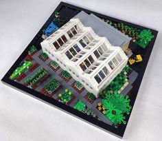 LEGO Greenhouse by dwilkop, via Flickr
