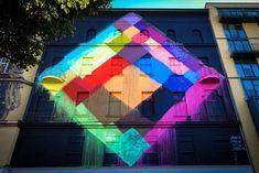 "mural - maya hayuk - berlin, bülowstrasse - ""urban nation"""