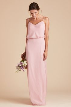 8f923a3e5a12b Birdy Grey Bridesmaid Dress Under  100 - Gwennie Dress - Dusty Rose - Pink  - Lightweight