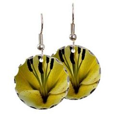 Yellow Black Flower Earring> Yellow Black Flower> Costasonlineshop