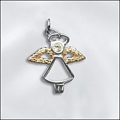 New selection of Sterling Silver angel charms now available. Check them out at www.wholesalejewelrysupply.com