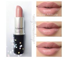 MAC Lipstick in Haute Altitude Eyebrow Makeup Tips Makeup 101, Love Makeup, Skin Makeup, Makeup Looks, Makeup Products, Makeup Ideas, Beauty Products, Mac Products, Perfect Makeup