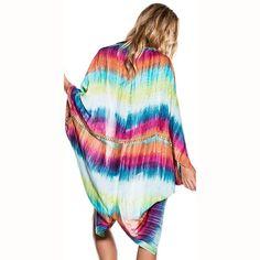 Women Kaftan Beach Cover-Up Kimono