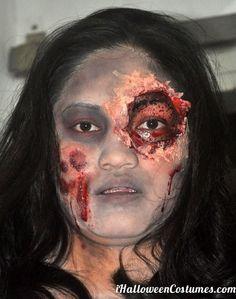 zombie makeup - Halloween Costumes 2013