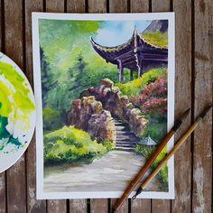 "5,457 Likes, 14 Comments - Watercolor illustrations  (@watercolor.illustrations) on Instagram: "" Watercolorist: @y_yumaeva #waterblog #акварель #aquarelle #painting #drawing #art #artist…"""