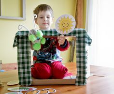 The Very Hungry Caterpillar puppet show- Twelve Months of Fun