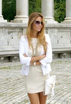 Madrid Style  , Zara en Blazers, Forever New en Vestidos, Forever New en Otras joyas / Bisutería