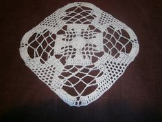 """Doily Pattern 2015-02-09 (~7.5"""" square)"""