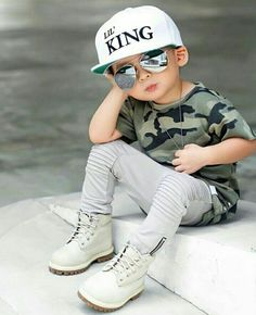 Cute outfit for little boys toddler boy fashion, toddler boys, fashion kids, asian Fashion Kids, Toddler Boy Fashion, Little Boy Fashion, Toddler Boy Outfits, Toddler Boys, Swag Fashion, Fashion Clothes, Baby Boy Camo, Baby Boy Dress