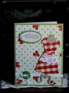 Creations by Mercedes: Strawberry Dress