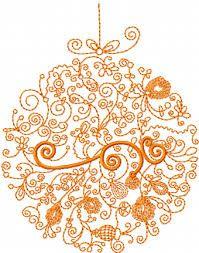 handmade modern embroidery for christmas - Google Search