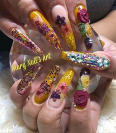 37 Best Embedded Nail Art Images On Pinterest In 2018 Nails