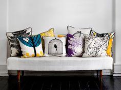 Pillows at foyer
