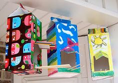 Mod Podge- Recycled Bird Feeders#craft #daisy #scout #Troop50170