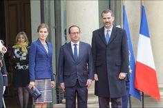 Visita de Estado de los Reyes de España a Francia. 24.03.2015