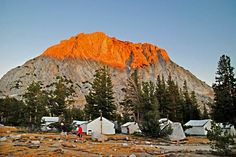 Life list: Yosemite's High Sierra Camps-I set up my tent just to the left of these.