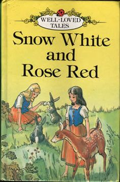 vintage ladybird edition of snow white and rose red, 1981 Good Books, My Books, Snow Images, Tales Series, Ladybird Books, Brothers Grimm, Princess And The Pea, Vintage Books, Vintage Stuff