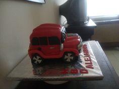 Torta de jeep