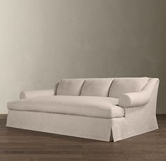The is EXACTLY what I'm looking for. Not the fabric, but the rest of it is perfect. ~ restoration hardware's daybed sofa!!! I want this!!!
